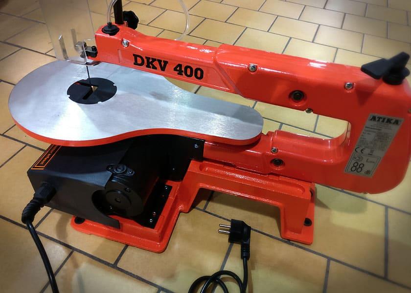 DKV 400 ATIKA Ersatzteil Adapter f/ür Laubs/ägebl/ätter f/ür Dekupiers/äge DK 400